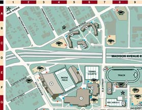 Lake Erie Enology Research Center Ysu Campus Map Parking Lots on